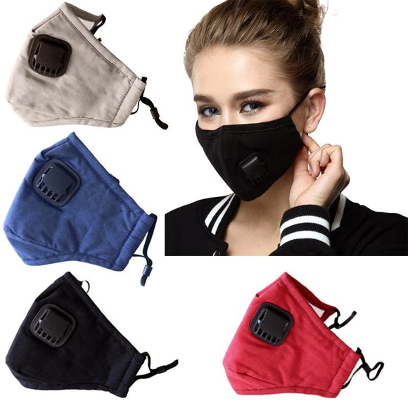 Washable Reusable Cloth Face Mask with a Respirator