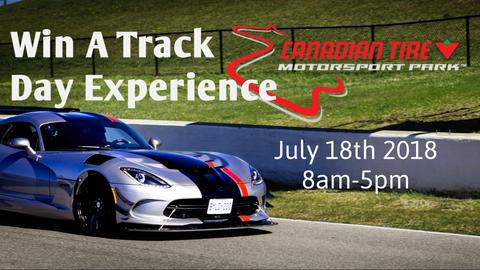 Enter YOUR Chance TO WIN a Track Day Experience!