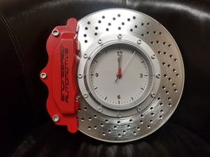 EA Brake Caliper/Cross Drilled Rotor Clock