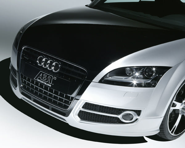 8J0800111 ABT spoiler shop under the original front bumper for the Audi TT 8J (from 04/06).