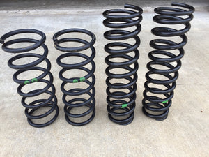 Porsche 964 Turbo OEM Springs, green dot - USED