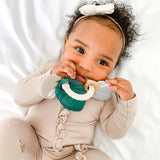 Tropical Itzy Keys Textured Ring with Teether + Rattle