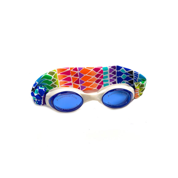 Rainbow Tracks Swim Goggles