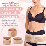 3 in 1 Postpartum Support Belt (Ivory)