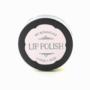 Citrus + Rose Lip Polish