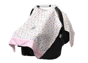 Cozy Happens™ Muslin Infant Car Seat Canopy
