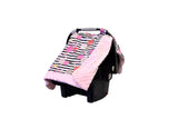 Cozy Happens Infant Car Seat Canopy & Tummy Time Mat