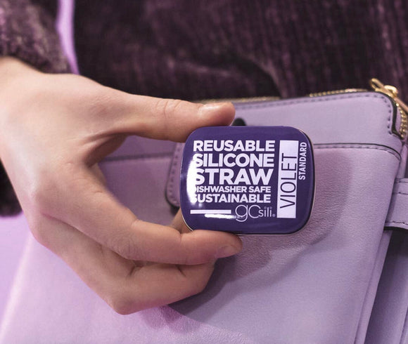 Standard Reusable Straw + Tin