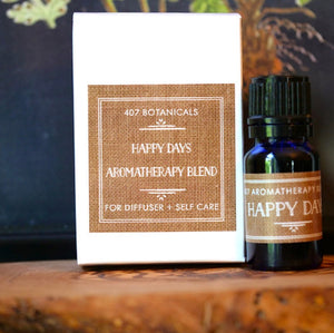 Happy Days Aromatherapy Lifestyle Blend
