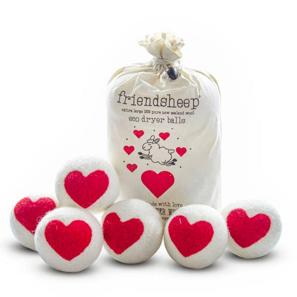 One Heart Eco Dryer Balls - Limited Edition