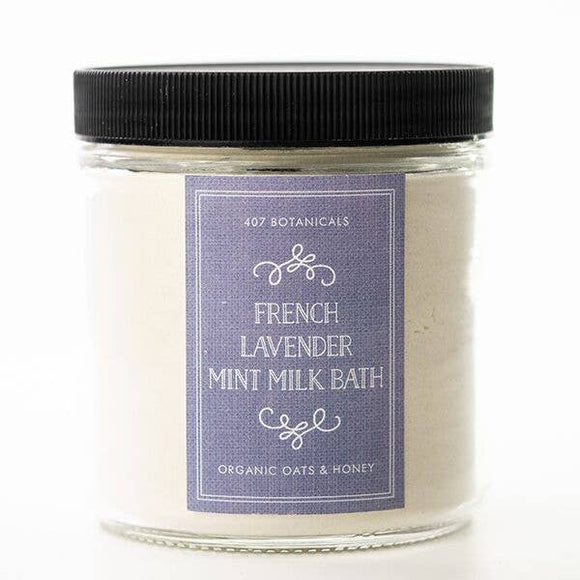 French Lavender + Mint Milk Bath Soak