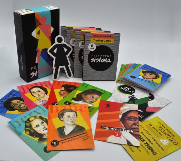 Women's History Trading Cards - Trailblazers Gift Box