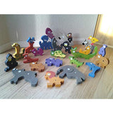 Jumbo Animal A to Z Puzzle & Playset