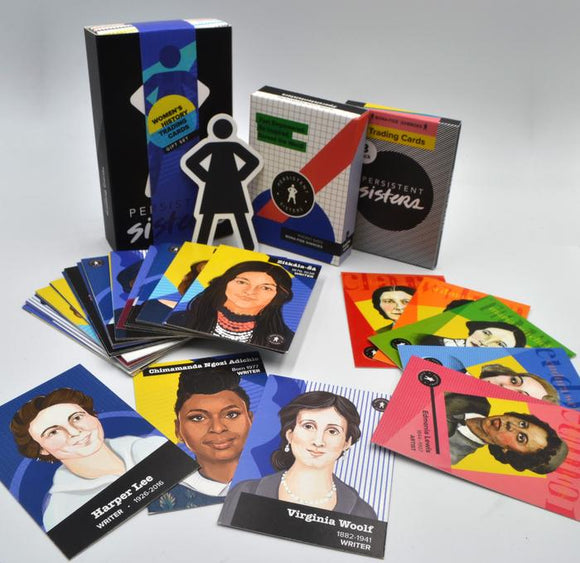 Women's History Trading Cards - Writers Gift Box