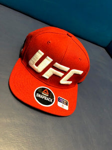 UFC Red Snap Back Hat