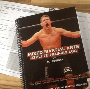 MMA Athlete Training Log by Al Iaquinta