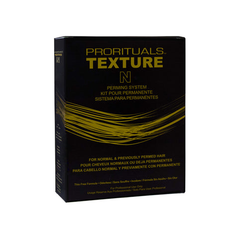 Prorituals Texture Perming System - For Normal & Previously Permed Hair