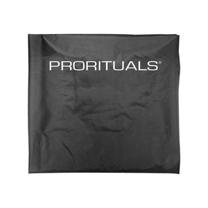 PRORITUALS Black Cape with Logo