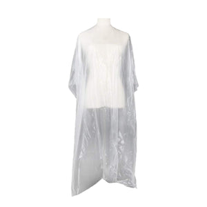 PRORITUALS Clear Disposable Cape