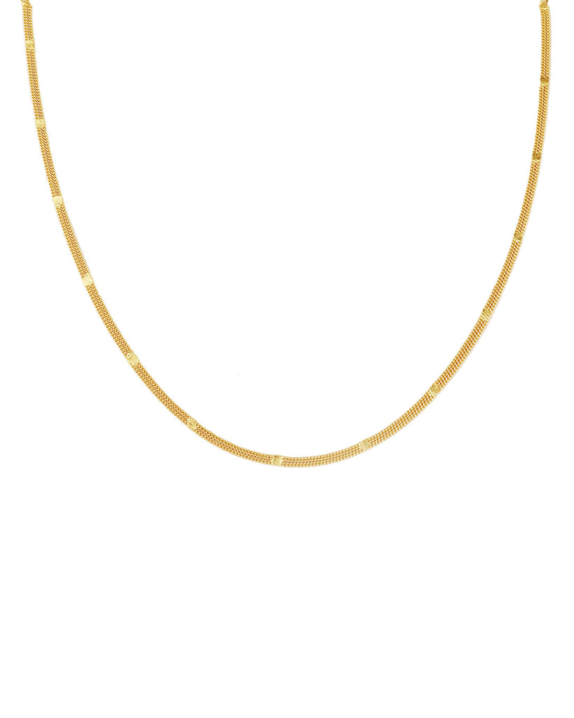 Holly Gold Choker