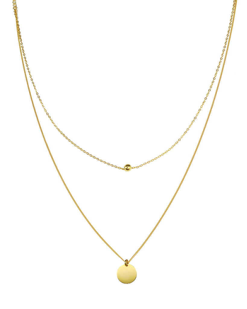 Cindy「18K Gold Vermeil Necklace」