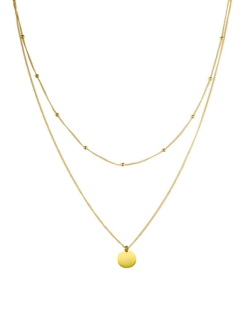 Vanna Gold Necklace