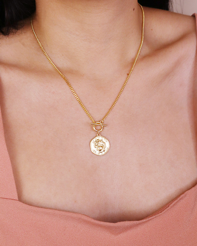 Lucy「18K Gold Vermeil Necklace」