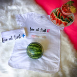 Love at First Maternity Tee