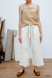 Cropped Loose Trousers NNB