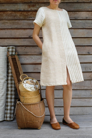 Two Tone Shortsleeve Dress