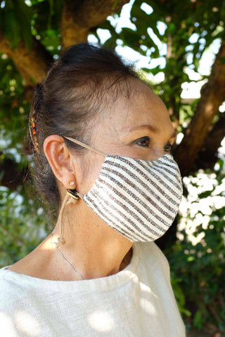 Pure Cotton Face Mask (With Stopper)