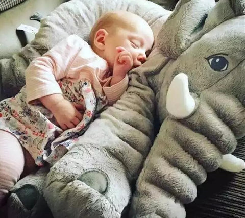 Baby Elephant Pillow Stuffed/Plush Toy