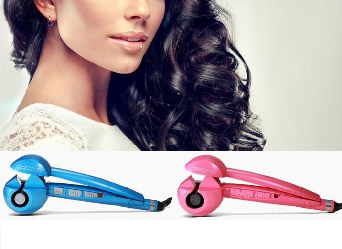 Hair Curler & Straightener