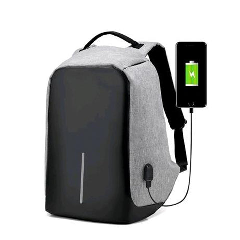 Anti-Theft Backpack (With USB Charging)