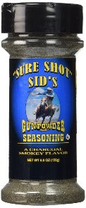 Sure Shot Sids Gunpowder BBQ Seasoning (5.5oz (156g))