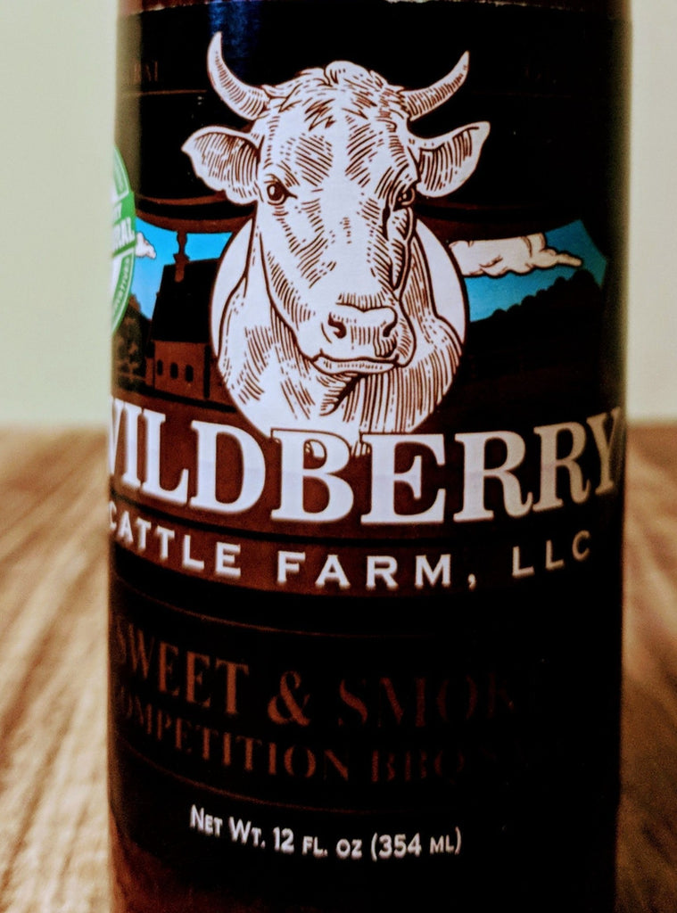 Wildberry Sweet & Smokey BBQ Sauce - 12FL OZ