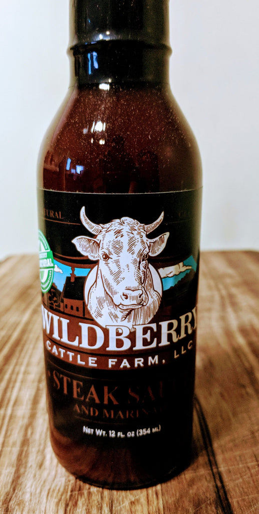 Wildberry Steak Sauce  - 12FL OZ
