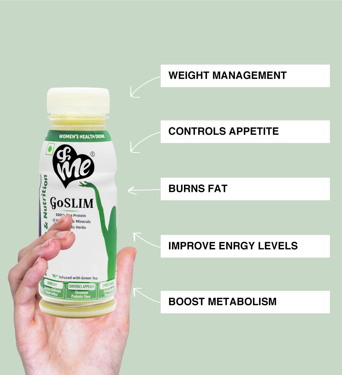 &Me Golim drink helps in weight control, fat loss