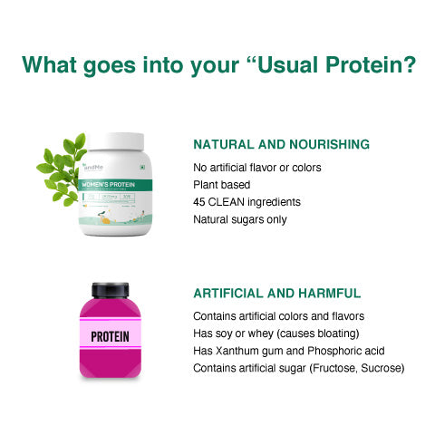 &Me is the best and cleanest plant based protein in the market