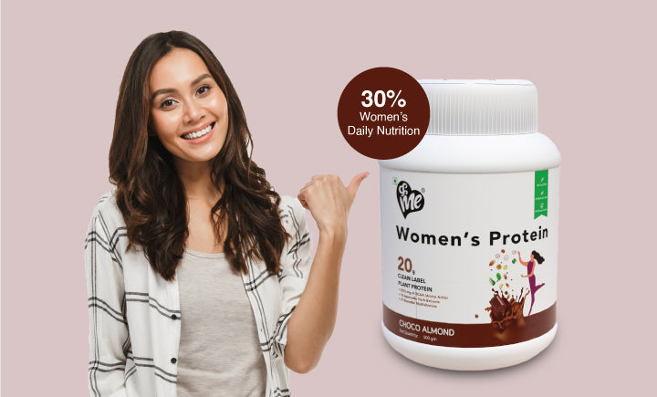 Women protein shows results