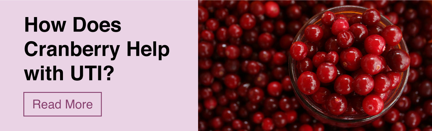 How does Cranberry help with UTI - &Me Blog