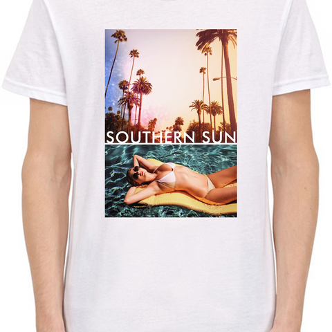 Southern Sun Paradise Beach T-Shirt For Men - Fashion Shopping 247