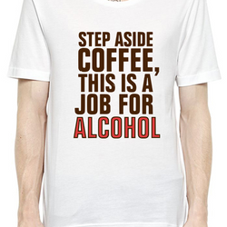 Step Aside Coffee T-Shirt For Men - Fashion Shopping 247