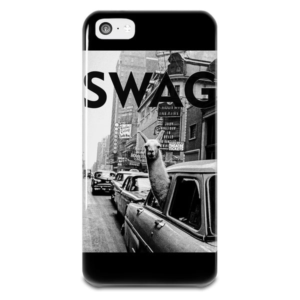 SWAG Llama In New York City Cab iPhone 5-5s Plastic Case - Fashion Shopping 247