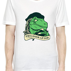 Philosoraptor T-Shirt For Men - Fashion Shopping 247