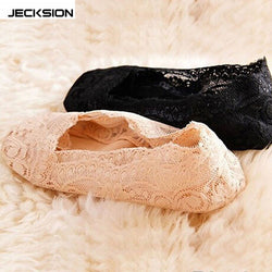 JECKSION Summer Invisible Fashion Women's Cotton Lace Antiskid Invisible Liner Low Cut Socks Free Shipping #LSIN - Fashion Shopping 247