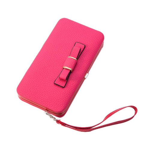 Xiniu women's wallet Long Purse female Leather Wallet Clutch Card Holder Phone Bag billeteras para mujer #5M - Fashion Shopping 247