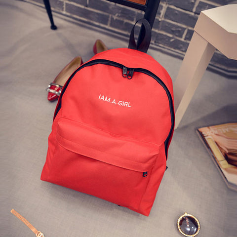 2016 1PC Boys Girls Unisex Canvas Rucksack Backpack School Book Shoulder Bag Double Root mochilas coleg #20 - Fashion Shopping 247