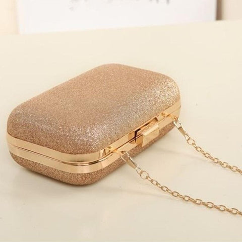 Xiniu women messenger bags small crystal handbag evening chain bag Evening Party Banquet girls shoulder bags bolsos mujer #YHES - Fashion Shopping 247