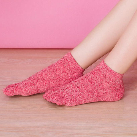 2017 New Arrival Funny Socks Women Five Toe Cotton Socks Pure Trainer Finger calcetines mujer 6 Colors - Fashion Shopping 247